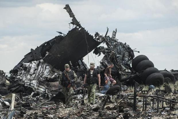 Сбитый Ил-76. СБУ обнародовала разговоры главарей боевиков