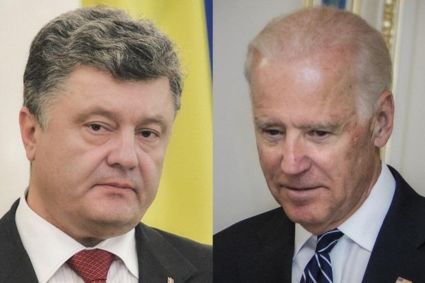 Порошенко и Байден обсудили будущее санкций против России