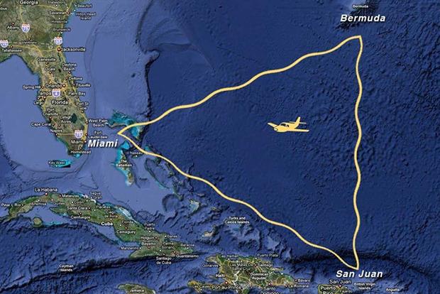 Ученые раскрыли тайну исчезновения кораблей в Бермудском треугольнике