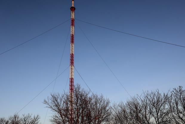 Америка подарила Украине телебашню для установки под Луганском