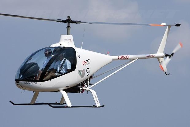 В США вертолет влетел в здание
