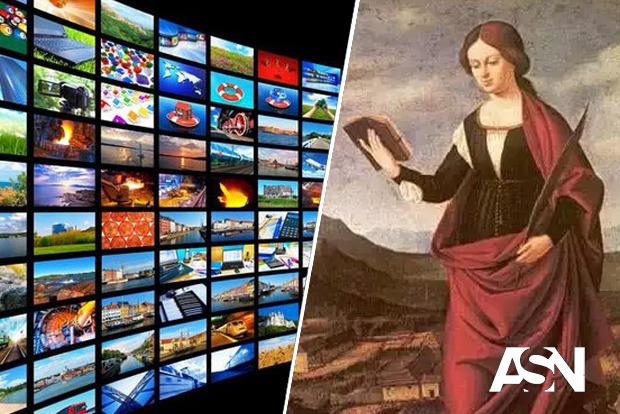 Почему святую из средневековья считают покровительницей телевидения, телеграфа и телефона?
