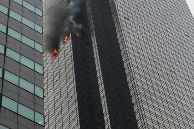 Пожежа в Trump Tower: є жертва і постраждалі