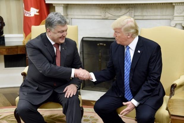 В Белом доме подтвердили встречу Трампа и Порошенко