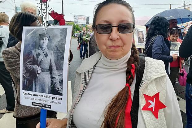 В Мелитополе митинг закончился дракой из-за георгиевских лент