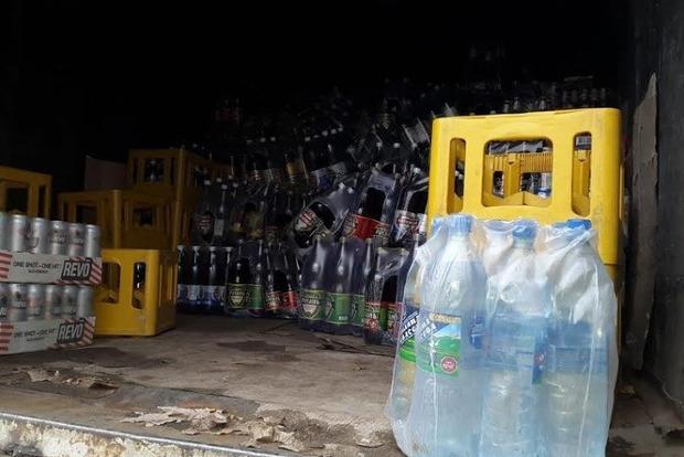 На Луганщине задержали четыре тонны контрафактного алкоголя и воды