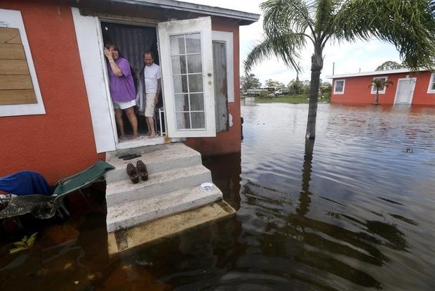 Во Флориде шторм «Ирма» ослаб до тропической депрессии