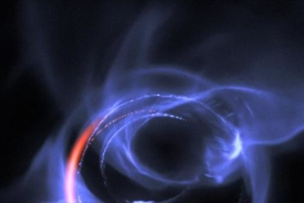 Астрономы впервые показали на видео движения вещества у черной дыры