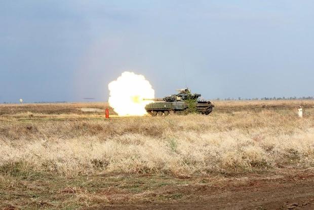 Боевики 24 раза обстреляли позиции ВСУ на Донбассе