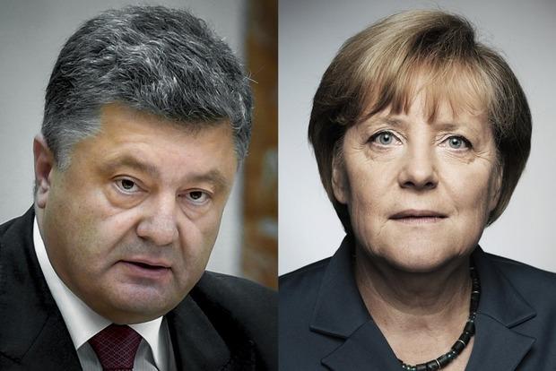 Порошенко анонсировал визит Меркель в Украину
