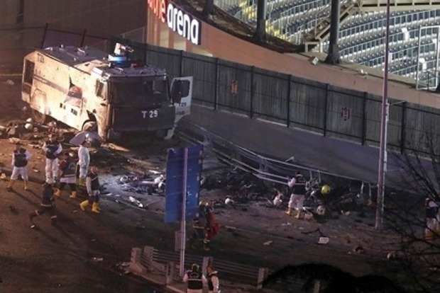 Из-за терактов возле стадиона в Стамбуле погибли 29 человек