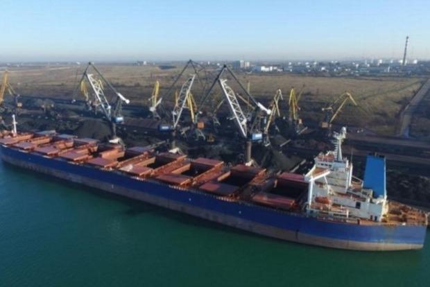 Второе судно с углем из ЮАР прибудет в конце января