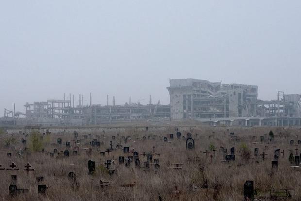 Апокалипсис сегодня. Опубликованы новые жуткие снимки окраин донецкого аэропорта