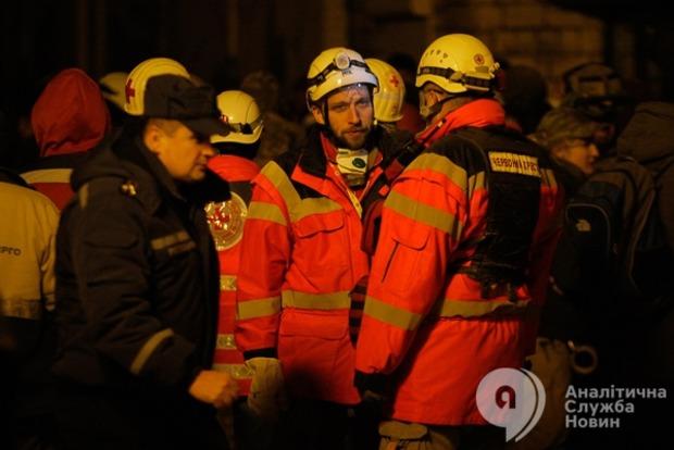 Из-под завала обрушившегося дома почти достали шестого пострадавшего