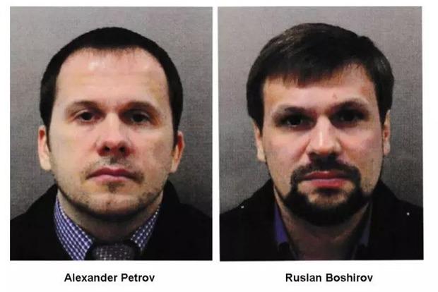 Появились новые кадры любителей шпилей Петрова и Боширова из Солсбери