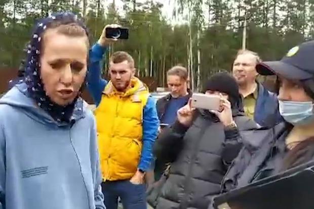 Ксению Собчак избили второй раз за неделю