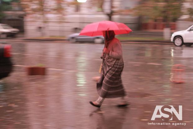 В Украину движется новый атмосферный фронт, несущий дожди