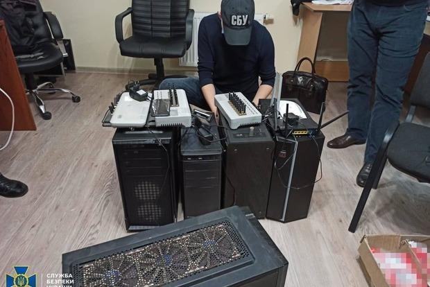 СБУ блокировала деятельность мощной «ботофермы», которую координировали кураторы из России