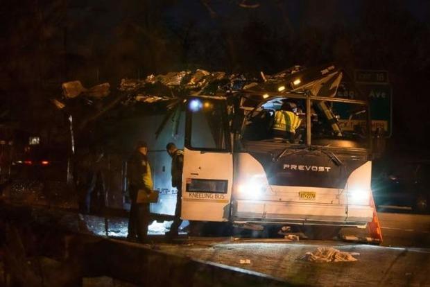 УСША шкільний автобус потрапив уДТП, травмовано 40 дітей
