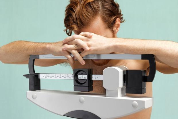 За 6 лет количество анорексичных мужчин выросло на 70%