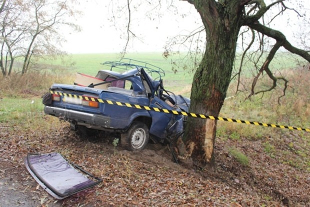 В ДТП в Черниговской области погибли три человека