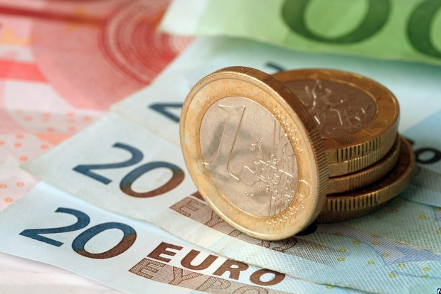 Цена евро превысила 29 гривен