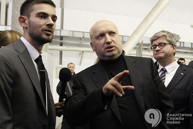 Президент назначил Турчинова ответственным за выполнение решения СНБО по «ПриватБанку»