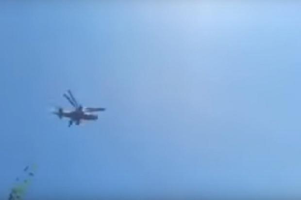 Під Херсоном бачили бойовий вертоліт Росії, у ЗСУ все заперечують