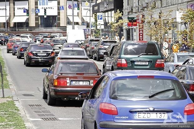 Киев. Метро. Пробки