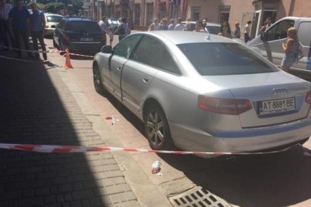 В центре Ивано-Франковска расстреляли предпринимателя