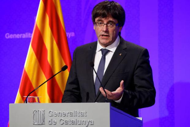 Каталония огласит независимость на днях - Пучдемон
