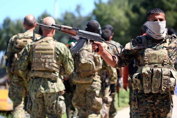 США начали поставки оружия сирийским курдам для борьбы с ИГИЛ