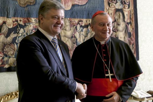 Украину посетит высокопоставленный чиновник из Ватикана