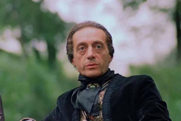 Помер актор, який зіграв графа Каліостро
