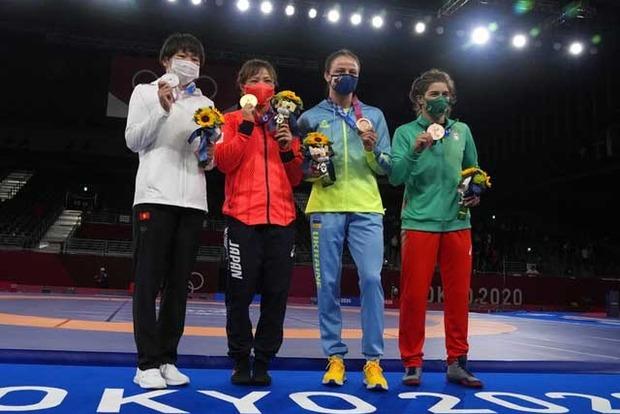 Олимпиада 2020. Медальный зачет. Лидируют китайцы. Украина на 37 месте