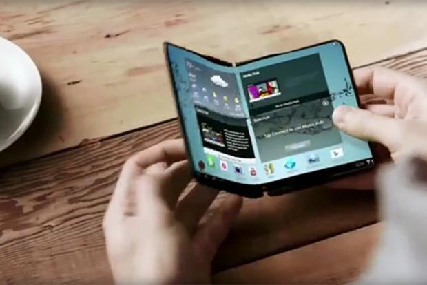 Samsung выпустит гибкий смартфон в 2018 году