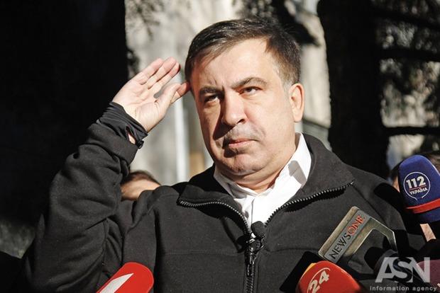 Саакашвили в аэропорту Варшавы: появилось видео