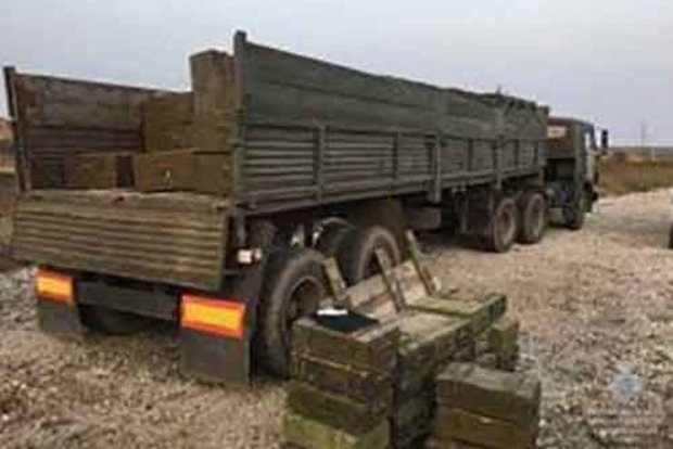 В Днепропетровскую область пытались ввезти более 700 боевых гранат