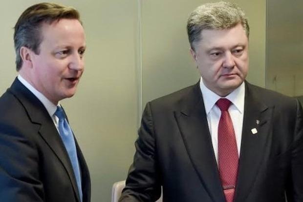 Кэмерон пообещал и дальше оказывать поддержку Вооруженным силам Украины