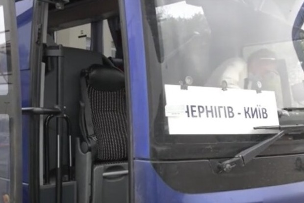 В Чернигове обстреляли автобус с пассажирами