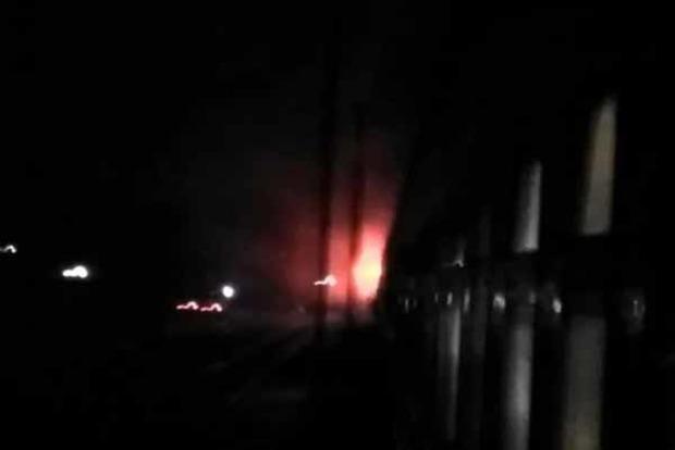 На ходу горел пассажирский поезд Николаев - Киев