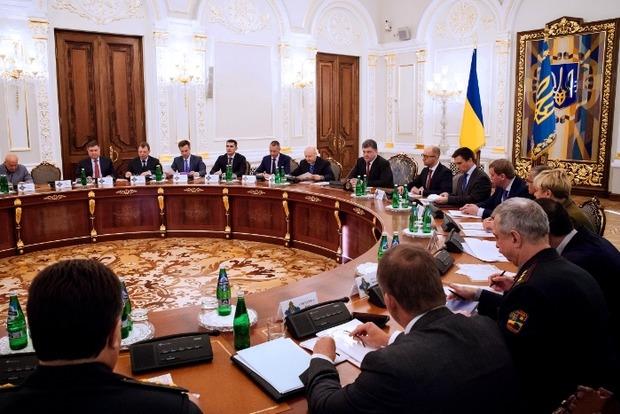ГПУ рассекретит протоколы СНБО времен аннексии Крыма