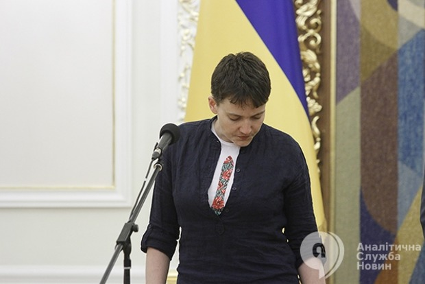 СБУ допросила Савченко по делу о создании «ДНР»