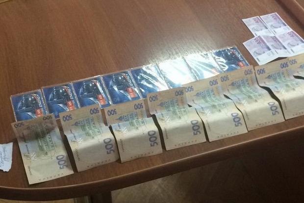 В Кривом Роге на взятке задержали начальника сектора полиции
