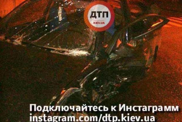 В пьяном ДТП в Киеве пострадали пять человек