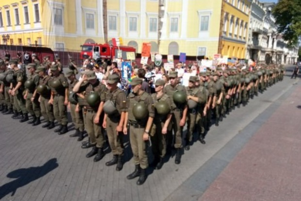 Полиция: Нарушений на «Марше равенства» в Одессе не зафиксировано