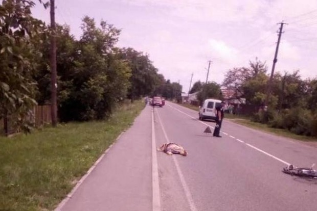 Под Львовом пьяный депутат сбил насмерть велосипедистку