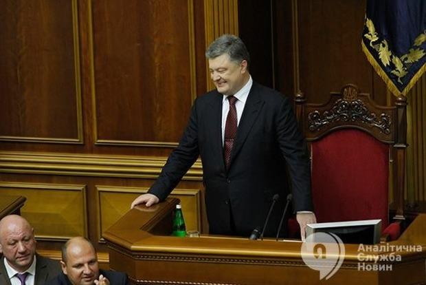 Военная угроза России остается главной для Украины - Порошенко