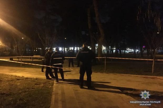 У київському парку стався вибух: 2 постраждалих