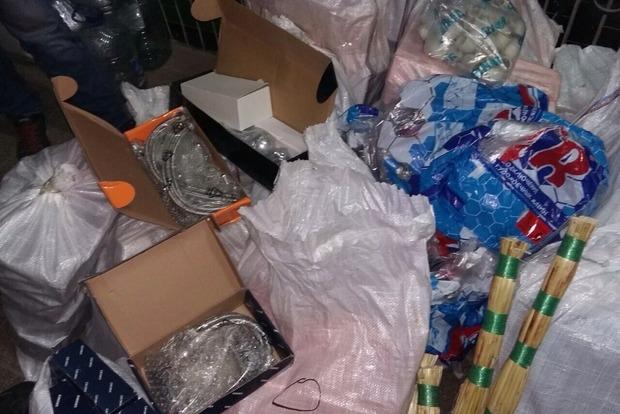 СБУ остановила контрабанду несколько грузов на оккупированную территорию Донбасса